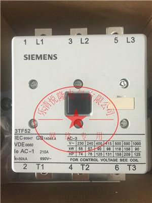 西门子接触器_3TF52