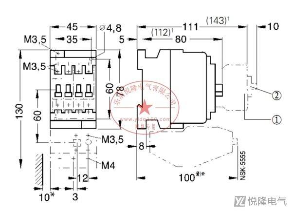 西门子接触器_西门子3TF53