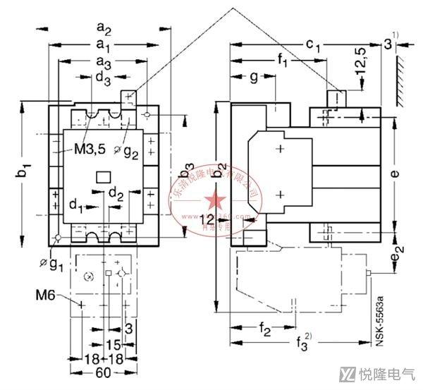 西门子接触器_3TF54
